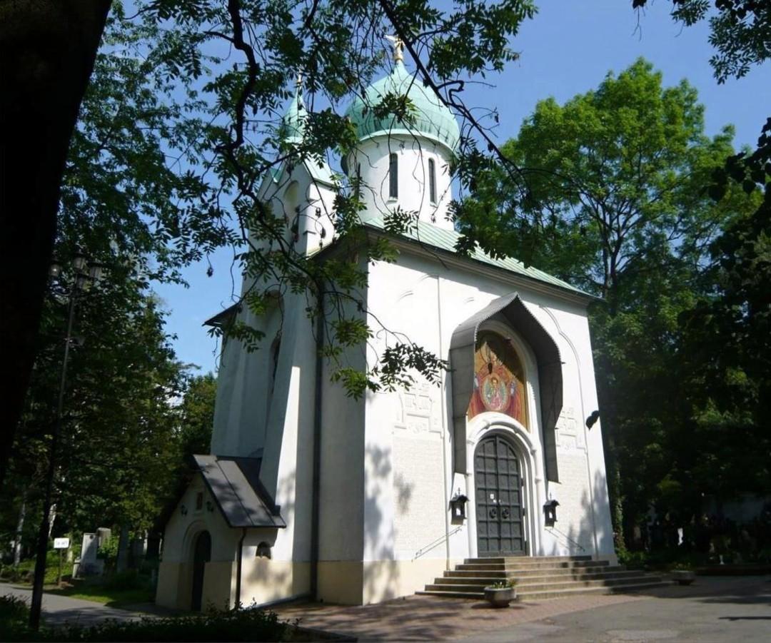 Храм Успения Пресвятой Богородицы на Ольшанском кладбище