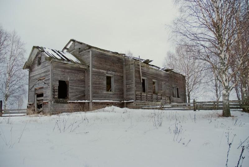Храм Рождества Иоанна Предтечи в Леменьге
