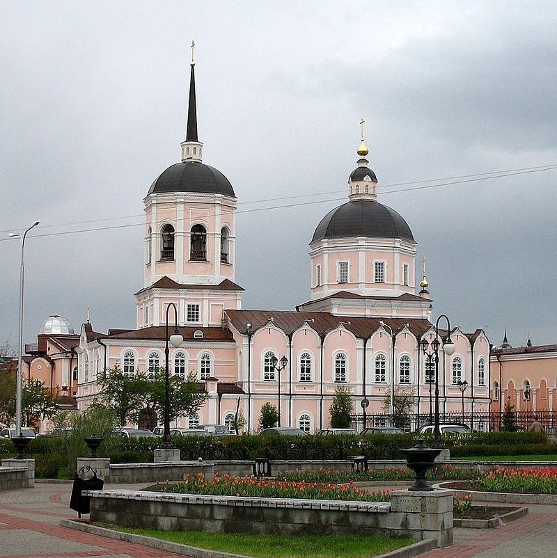Кафедральный Богоявленский Собор в Томске