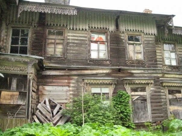 Деревянная усадьба Ильжо