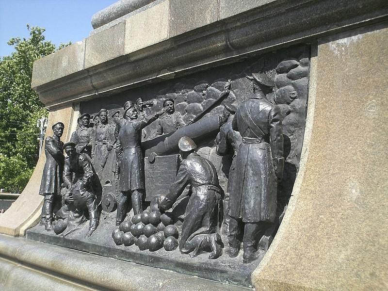 Памятник Нахимову в Севастополе