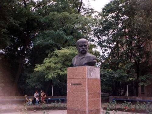 Бюст Тарасу Шевченко