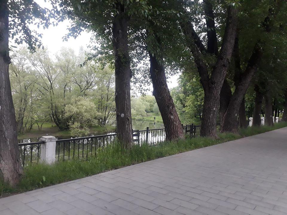 Мост-плотина Венеры в Лефортовском парке