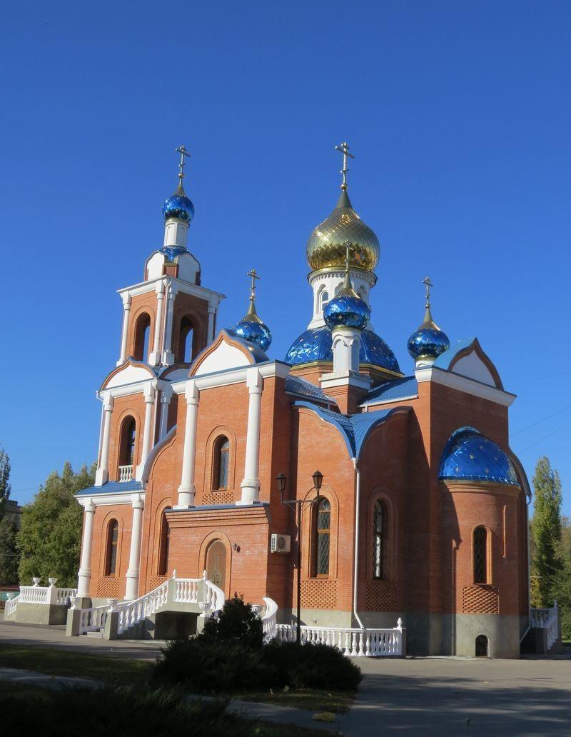 Полковой храм в честь Азовской иконы Божией Матери