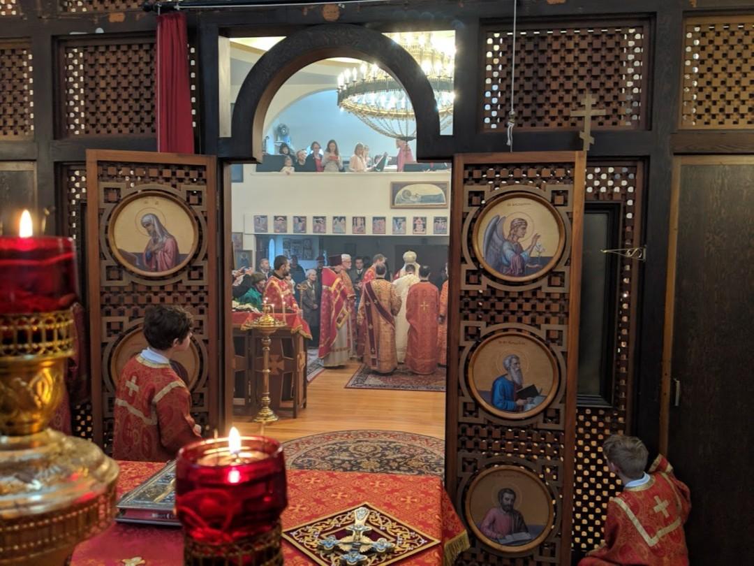 Свято-Спиридоновский собор в Сиэтле (США)