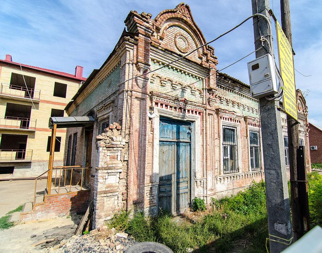 Здание первой городской управы Азова