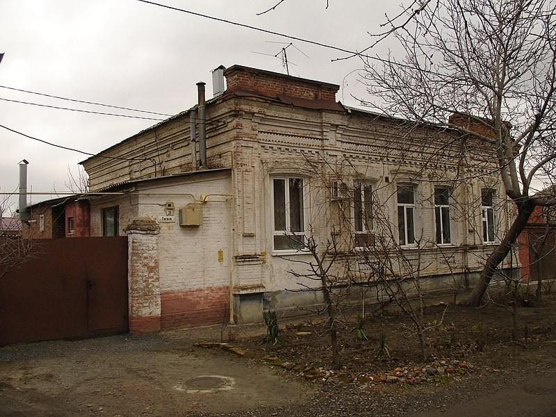 Жилой дом азовчанина Харина