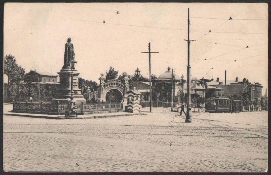 Памятник Екатерины Великой