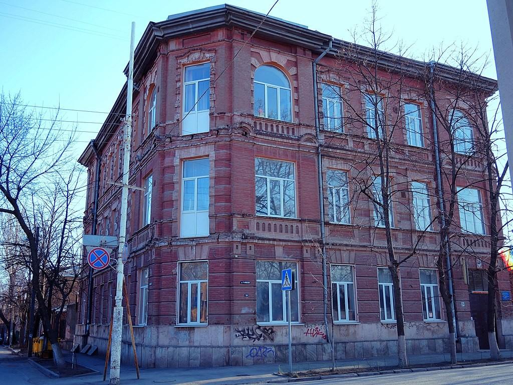 Здание частного мужского реального училища в Ростове-на-Дону