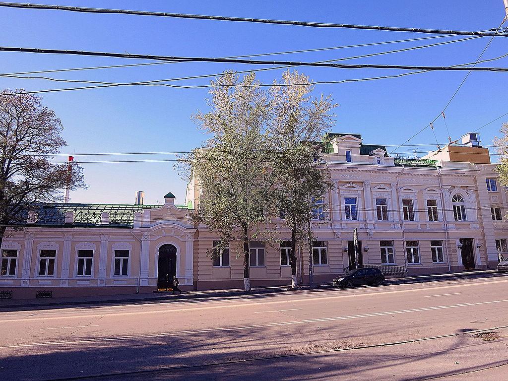 Особняк Лусегена Поповав Ростове-на-Дону