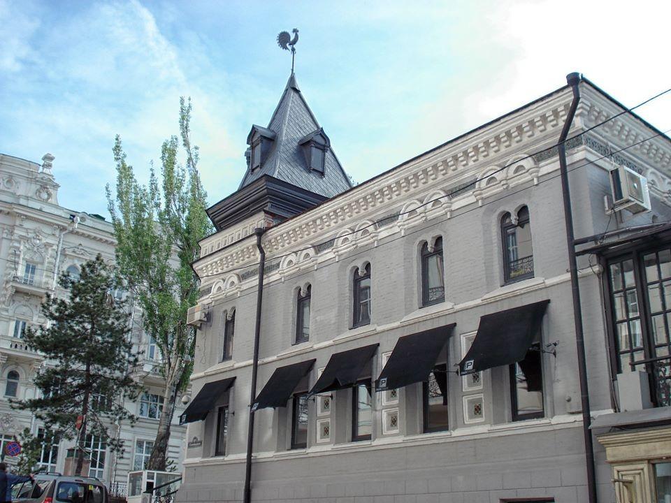 Здание школы домоводства и кулинарии