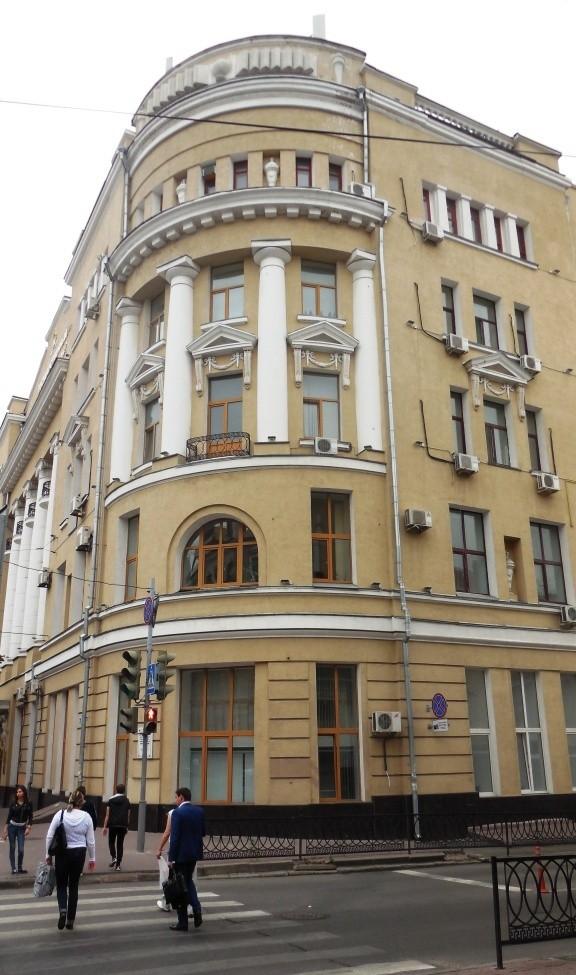 Здание бывшего главного корпуса Варшавского (Донского) университета