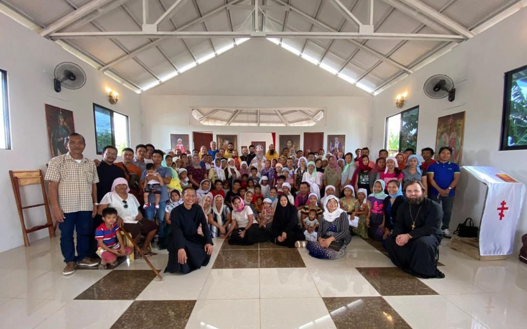 Храм во имя преподобного Серафима Саровского на Филиппинах