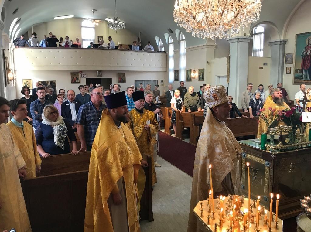 Кафедральный собор святой великомученицы Варвары в Эдмонтоне (Канада)