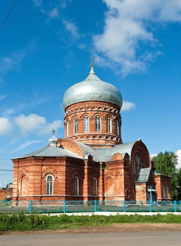 Храм Александра Невского в Лобаново