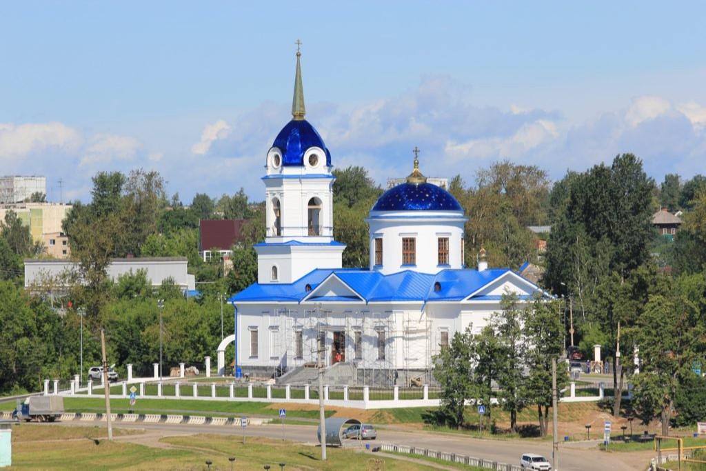 Храм Рождества Пресвятой Богородицы в Добрянке