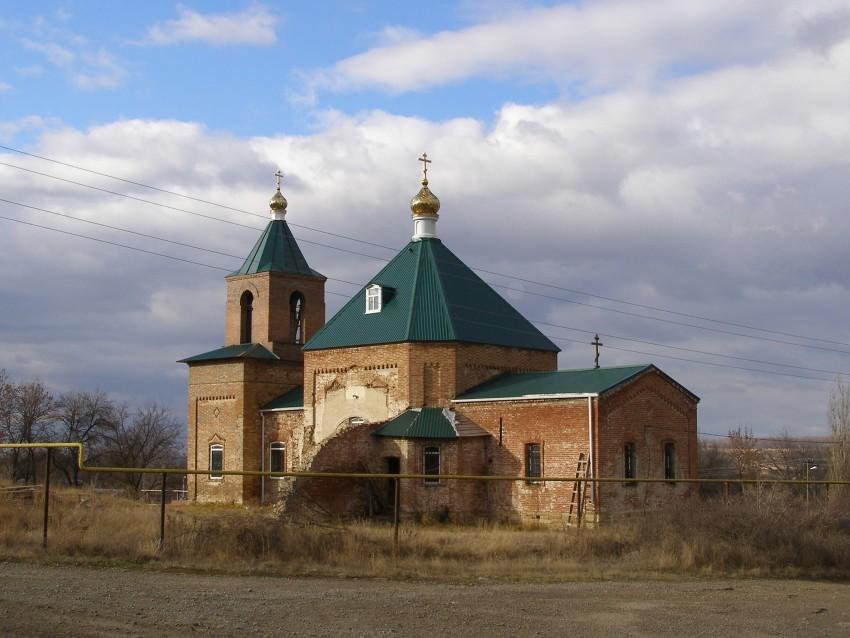 Церковь Петра и Павла в хуторе Каменный Брод
