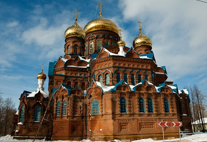Свято-Троицкий Собор в Осе