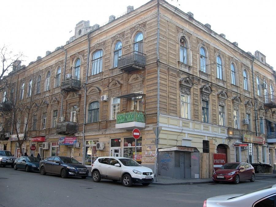 Ростовский доходный дом одесского купца Шварца