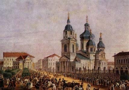 Церковь Спаса на Сенной в Санкт-Петербурге