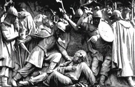 Памятник царю Михаилу Фёдоровичу и крестьянину Ивану Сусанину в Костроме