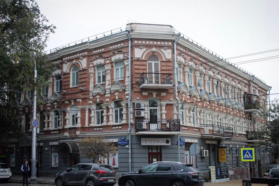 Доходный дом потомственного почетного гражданина С.Н. Дронова