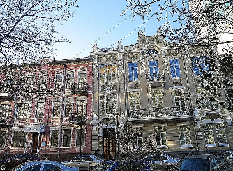 Жилой дом Ивана и Анны Бострикиных