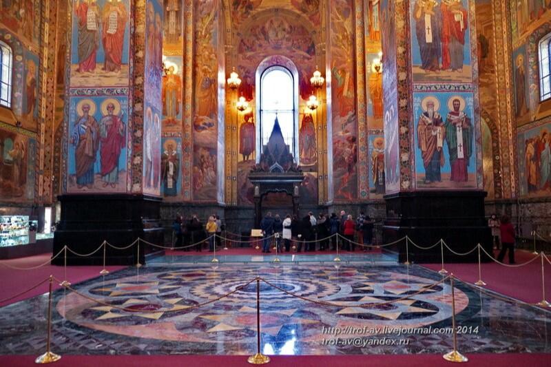 Спас на Крови (Собор Воскресения Христова на Крови) в Санкт-Петербурге