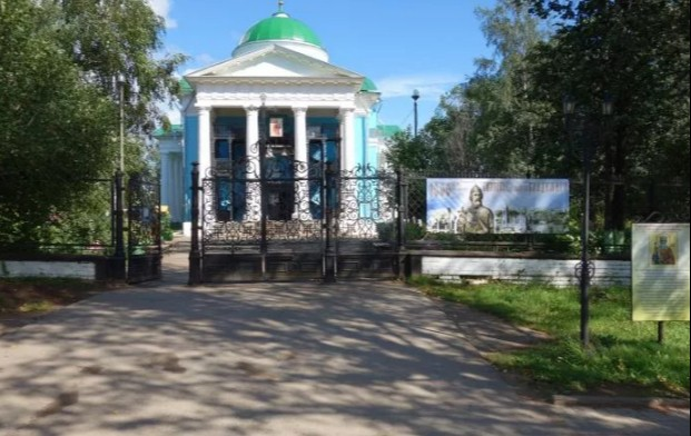 Храм Архангела Михаила в Очере