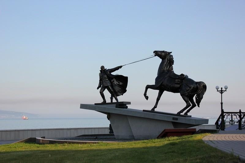 Памятник Новороссийской катастрофы Белого Движения
