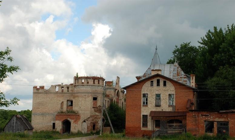 Дворянский городок в Муромцево