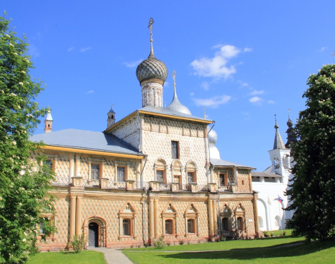 Церковь иконы Божией Матери Одигитрия в Ростовском Кремле