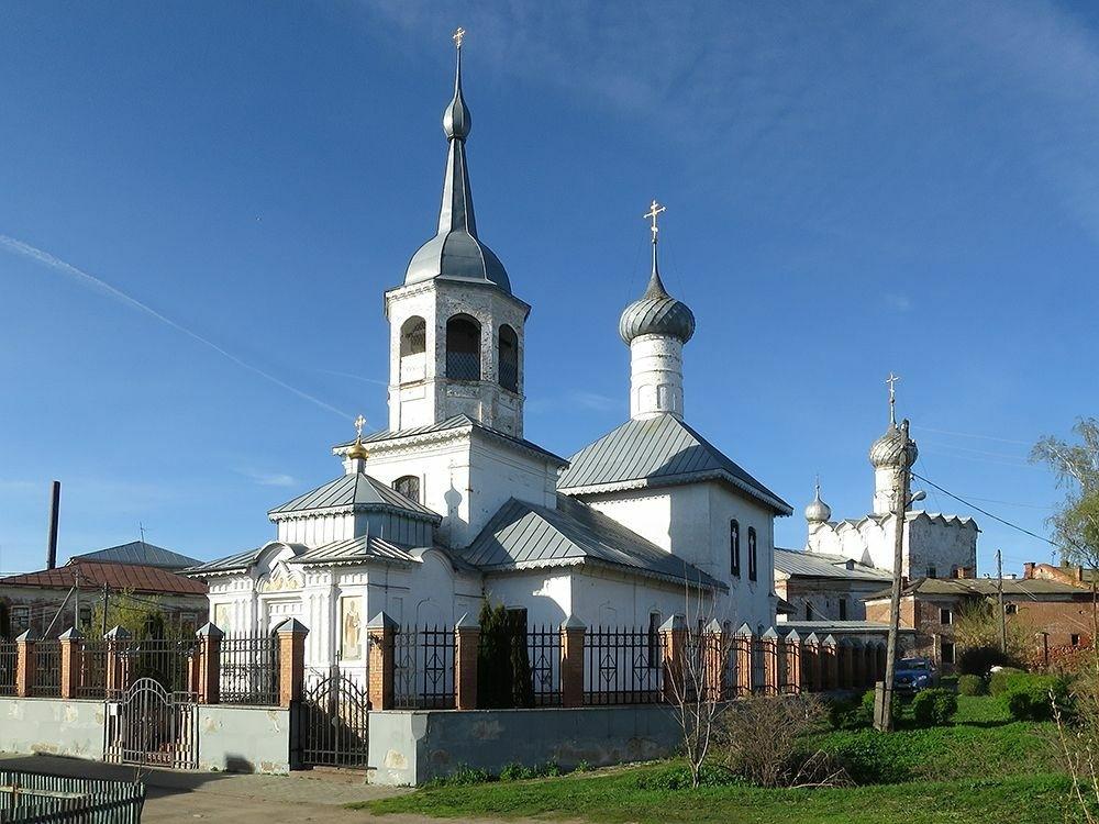 Церковь Николая Чудотворца на Подозёрье
