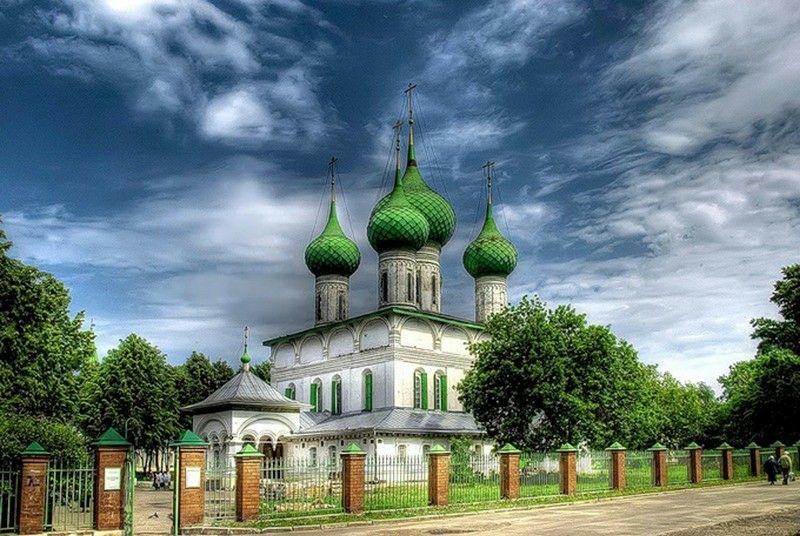 Церковь Фёдоровской иконы Божией Матери