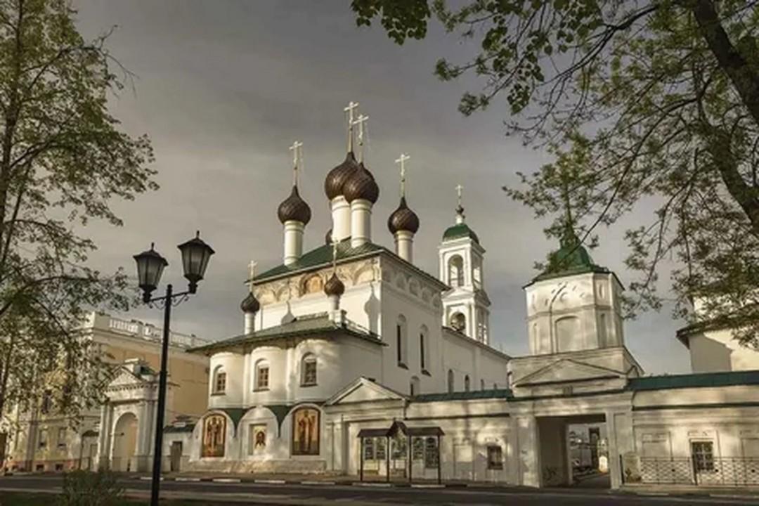 Церковь Спаса Нерукотворного Образа Пробоинская в Кирилло-Афанасиевском монастыре в Ярославле