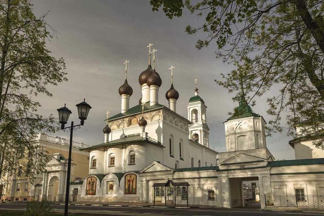 Кирилло-Афанасиевский мужской монастырь в Ярославле