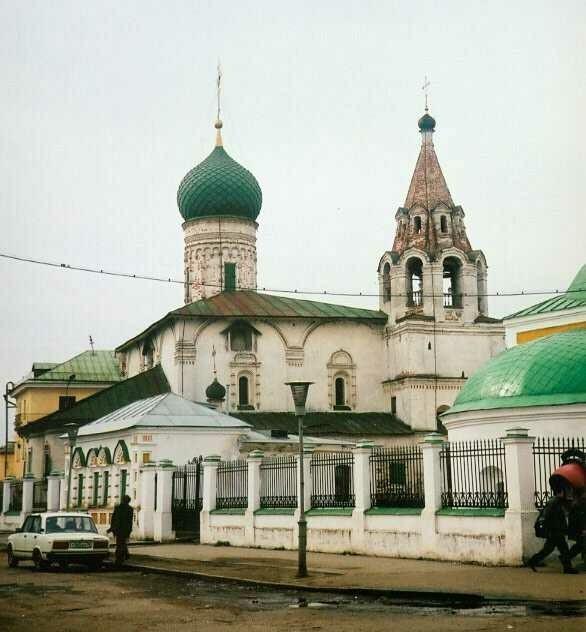 Церковь Димитрия Солунского в Ярославле