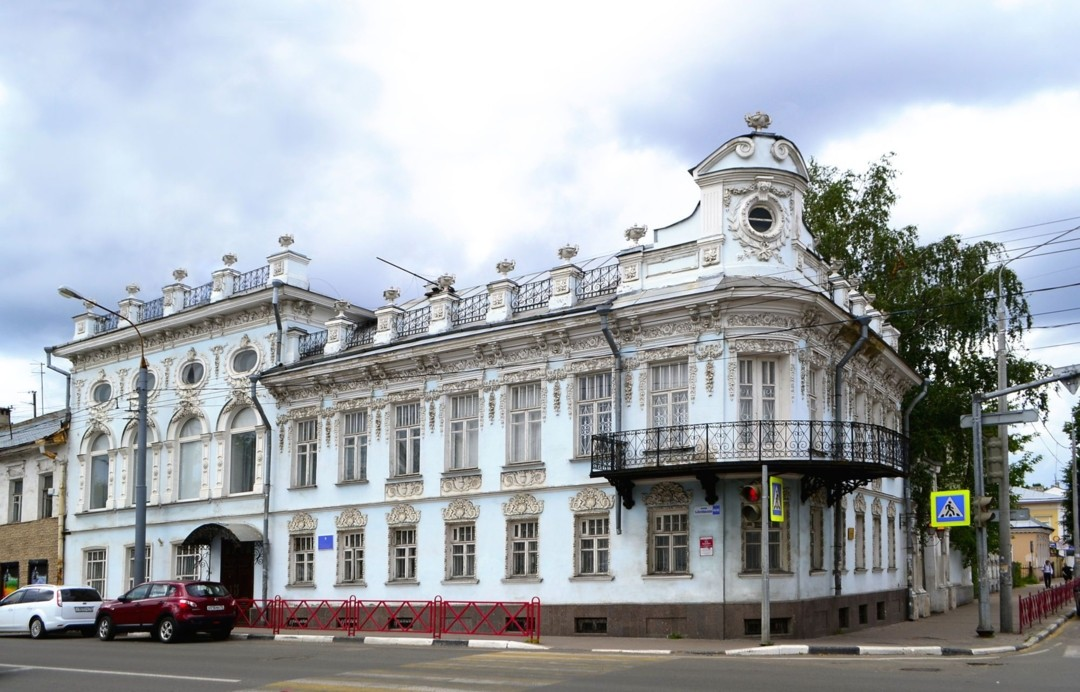 Дом Донцовых-Лопатиных в Ярославле