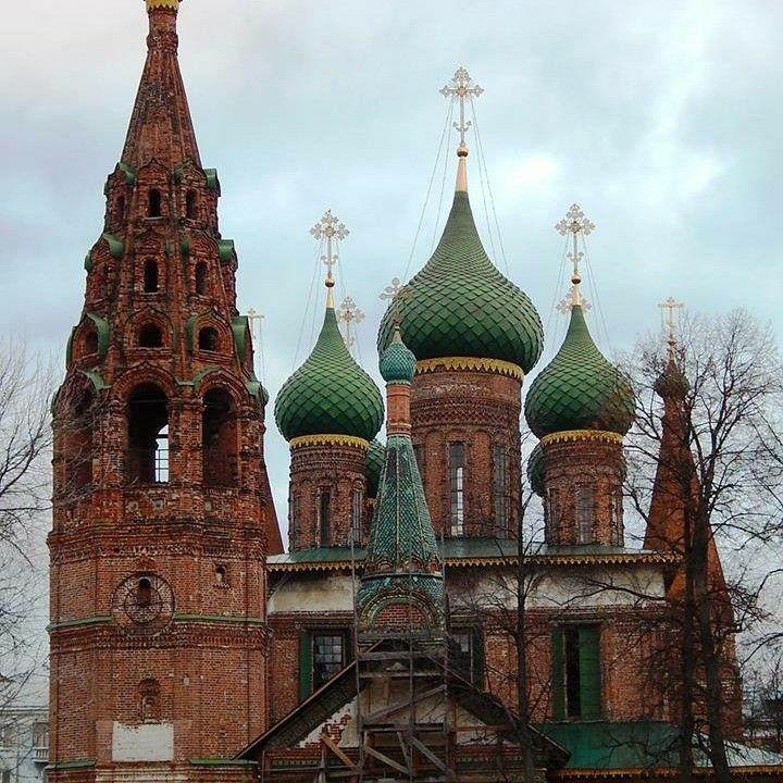 Церковь Николы Мокрого в Ярославле