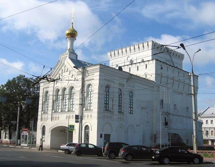 Знаменская башня в Ярославле