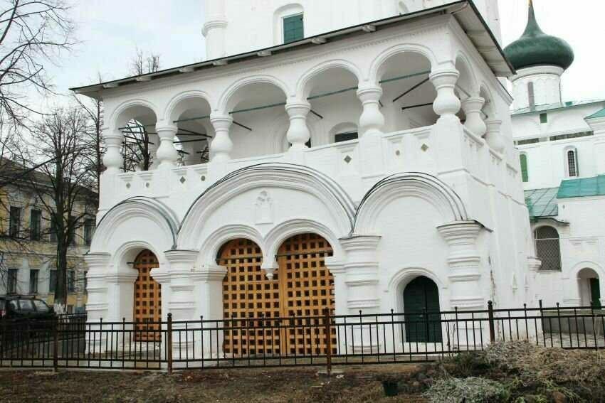 Церковь рождества Христова в Ярославле
