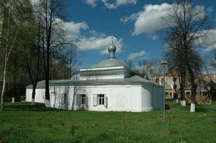 Церковь Параскевы Пятницы в Калашной слободе в Ярославле