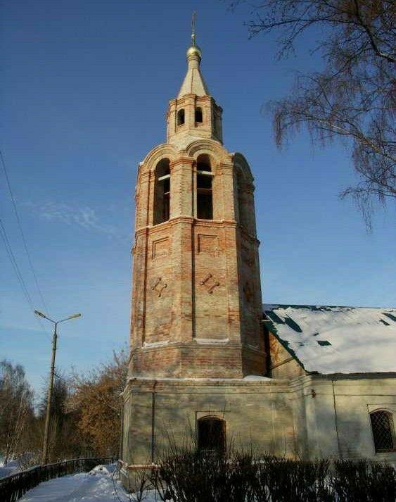 Храм Зосимы и Савватия в Тверицах в Ярославле
