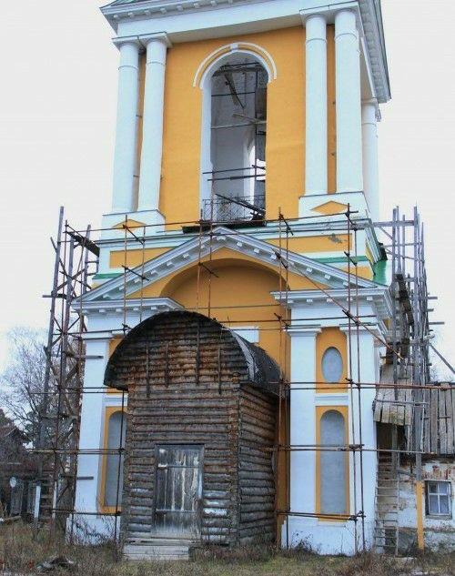 Церковь Троицы Живоначальной в Троицком бору
