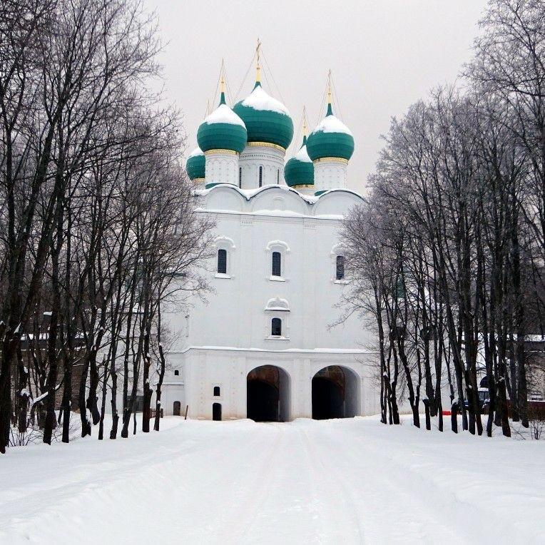 Церковь Сергия Радонежского в Борисоглебском монастыре