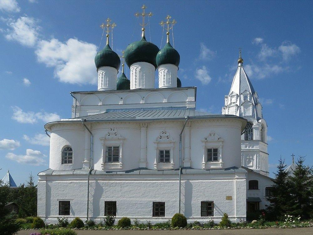 Церковь Благовещения Пресвятой Богородицы Никитского монастыря в Переславле-Залесском