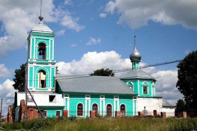 Церковь Троицы Живоначальной в Большой Бремболе