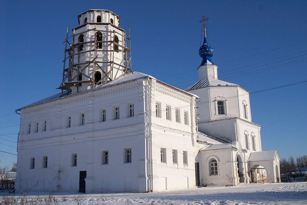 Смоленско-Корнилиевская церковь в Переславле-Залесском
