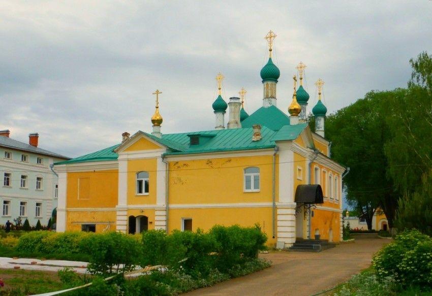 Церковь Благовещения Пресвятой БогородицыНикитского монастыря в Переславле-Залесском