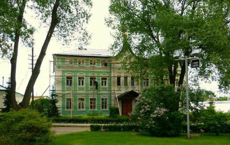 Церковь Сергия Радонежского Никольского монастыря в Переславле-Залесском